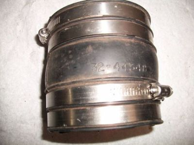 "Find Exhaust Bellow 4"" x 4"" and 4 1/2"" long motorcycle in Independence, Missouri, United States, for US $15.00"