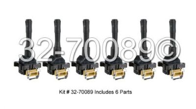 Sell Brand New Top Quality Complete Ignition Coil Set Fits BMW 325I 525I & M3 motorcycle in San Diego, California, United States, for US $108.92