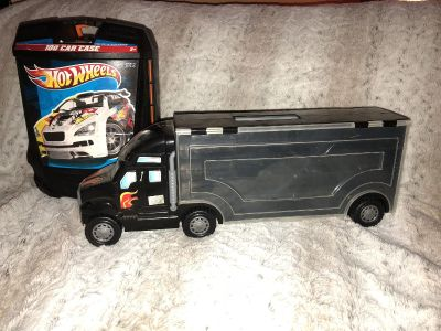 Two hot wheel car cases $5 for both