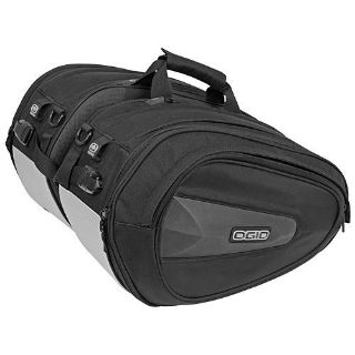 Purchase New Ogio Saddle Bag Stealth Motorcycle Luggage Travel Gear Bags motorcycle in Ashton, Illinois, US, for US $129.00