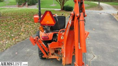 For Sale: Kubota BX24 Tractor with Backhoe
