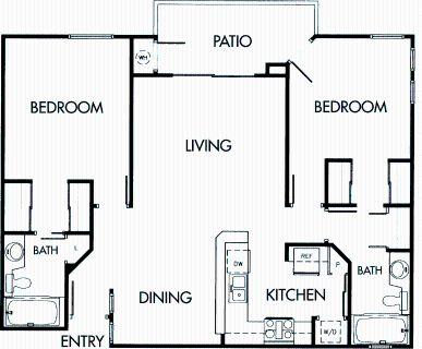 2 bedroom in Bay Park