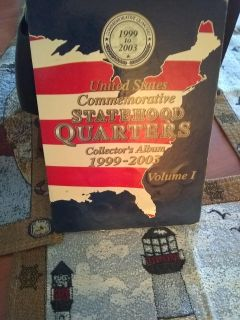 Collectable statehood quarters