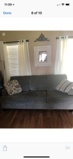 Couch,loveseat, and chair good condition. $200