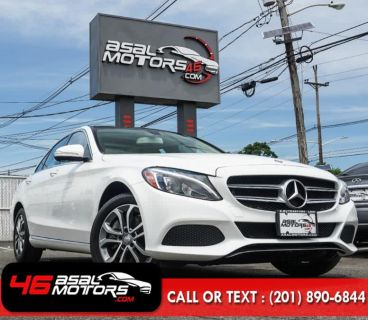 2015 Mercedes-Benz C-Class 4dr Sdn C300 Luxury 4MATIC (Polar White)