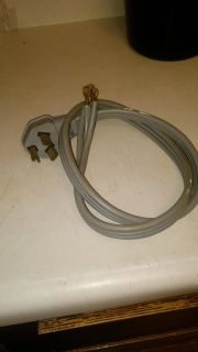 Three prong washer or dryer cord