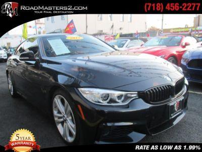 2015 BMW 4 Series 2dr Cpe 435i M Sport HUD Navi (Black Sapphire Metallic)