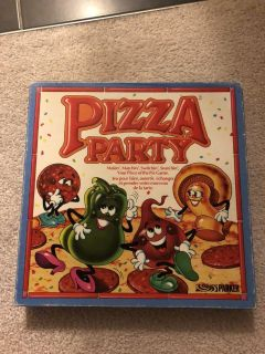 1987 pizza party board game