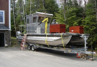 2008 Custom-Built Log-Salvage-Boat
