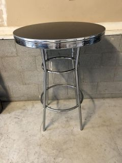 Bistro high top table
