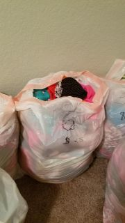 Bundle of clothes for 6 mos girl