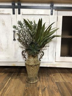 NICE Flower Wall Decor-Approx 24 in tall