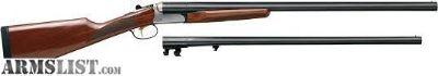 For Sale: Stoeger Uplander 20/28 Ga Combo Shotgun