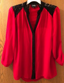Red/ Black size medium