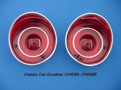 Sell 1971 Chevy Chevelle SS Tail Light Lenses. (2) Brand New! motorcycle in Aurora, Colorado, US, for US $30.99