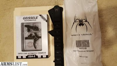 For Sale: Geissele & Spikes Tactical