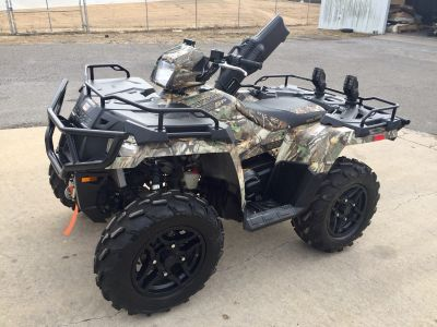 2017 Polaris Sportsman 570 SP Hunter Edition Utility ATVs Wagoner, OK