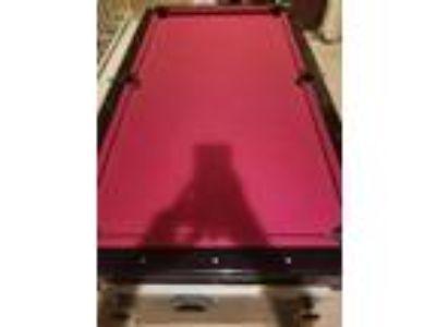 Combo Pool / Air Hockey Table with Ping Pong table mount - 200