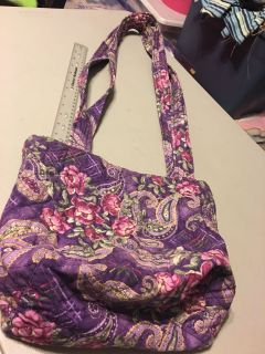 Quilted Bag, inside pockets, snap closure $2.50