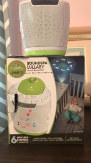 Soundspa lullaby. Lights and music