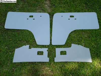 New Bay Cab Area Interior Panel Set Grey