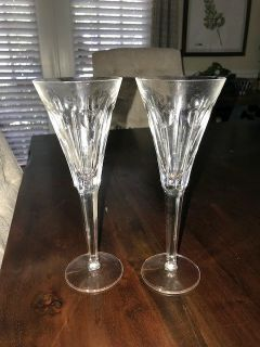 Fluted Champagne Millennium Series by WATERFORD CRYSTAL