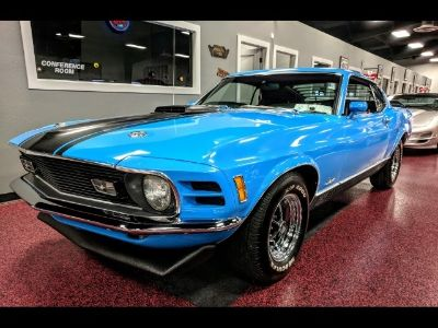 1970 Ford Mustang Mach 1 (grabber bl)