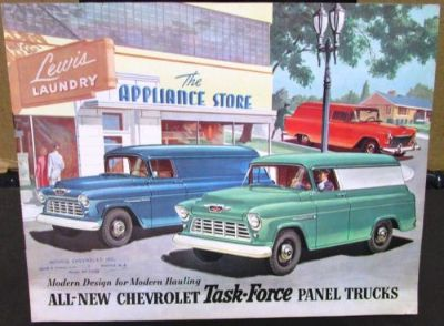 Sell Original 1955 2nd Series Chevrolet Truck Sales Brochure Panel Sedan Delivery motorcycle in Holts Summit, Missouri, United States, for US $44.55