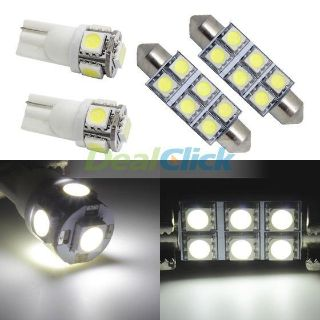 Find 6x White LED Lamps Bulbs Interior Lights Package For Lincoln Mercury Chevrolet motorcycle in Cupertino, CA, US, for US $14.99