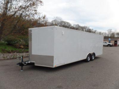 8.5X20 9,990 GVW LOOK enclosed car trailer.