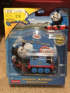 NEW Thomas the Train Die-cast & DVD 10 available