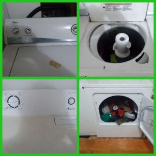 AMANA WASHER AND DRYER. USED. WORKS GREAT. $250.00 OBO
