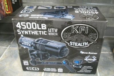 Purchase KFI 4500lb SE 45 Stealth ATV/UTV Winch KFI 4500lb Synthetic SE 45 Winch New! motorcycle in Searcy, Arkansas, US, for US $365.00