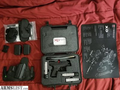 "For Sale: Springfield Armory XD Mod 2 9mm 3,3"" barrel"