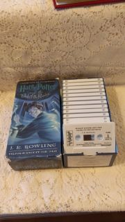Harry Potter and the Order of the Phoenix on Cassette