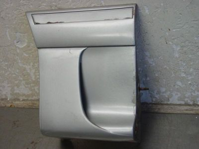 Find 87 88 89 Ford Mustang GT Silver Passenger Side Front Fender Extension motorcycle in Franklin, Indiana, US, for US $29.99