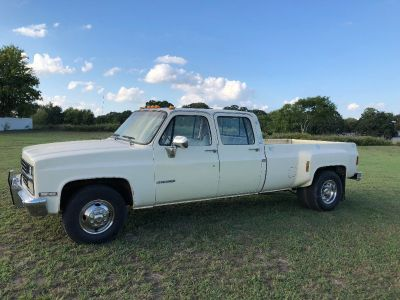 1990 Chevrolet Crewcab Dually, C30, Silverado, 454 Big Block Fuel Injected, Texas truck