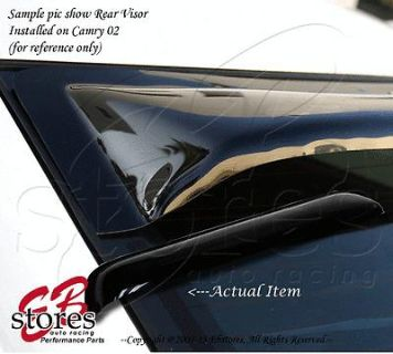 Sell Sun Guard Rear Visor Wind Shield Deflector Nissan Maxima 1995-1999 SE GLE GXE motorcycle in La Puente, California, US, for US $42.95