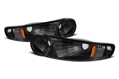Buy Spyder ZOGD00 GMC Yukon Denali Black Clear Driving Bumper Lights 2 Pcs 1 Pair motorcycle in Rowland Heights, California, US, for US $67.80
