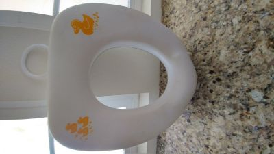 Potty seat for toilet