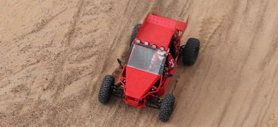 Ride on the Sandrail the baddest Dune Buggy on the market today speeds up to 60mph