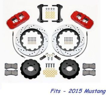 "Buy Wilwood AERO6 Front Big Brake Kit Fits 2015 Ford Mustang,15""Drilled Rotors,Red motorcycle in Camarillo, California, United States, for US $2,144.00"