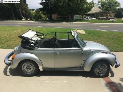 1979 Super Beetle Convertible