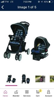 Car seat and stroller