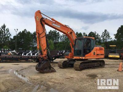 2013 (unverified) Doosan DX140LC Track Excavator