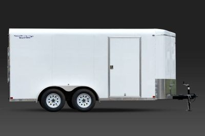 2018 Sharp MFG 7x14 Tandem Axle Cargo Trailer Cargo Trailers Trailers Russell, KS