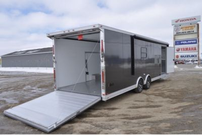 2019 IN-TECH 8.5X28 RACE CAR TRAILER