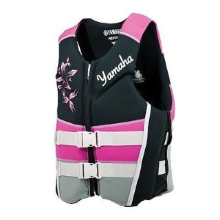 Sell YAMAHA WOMENS NEOPRENE 2-BUCKLE PFD PINK MEDIUM motorcycle in Maumee, Ohio, United States, for US $84.99