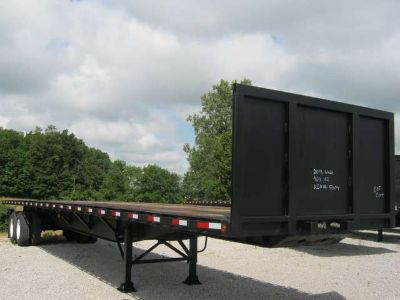 """2013 Wade Services 46' x 102"""" Flatbed Moffett Trailer"""