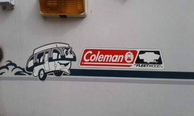 1998 coleman taos pop up camper